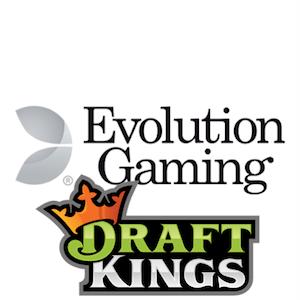Evolution Gaming & DraftKings werden ein Team