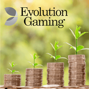 Evolution Gaming auf Wachstumskurs