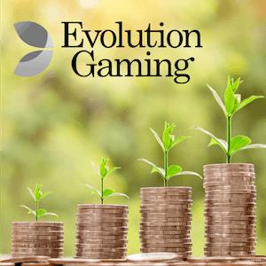 Evolution Gaming auf Wachstumskurs
