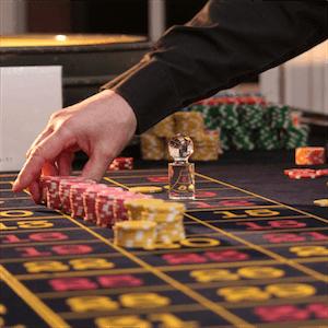 Bildunterschrift: Live-Casino-Spiele